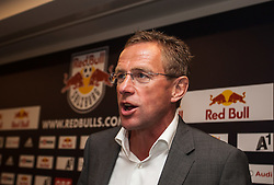 25.06.2012, Red Bull Arena, Salzburg, AUT, 1. FBL, Red Bull Salzburg Pressekonferenz, im Bild Ralf Rangnick, Sportdirektor Red Bulls - Salzburg und Leipzig // during Pressconference of Austrian Football Team Red Bull Salzburg at the Red Bull Arena, Salzburg, Austria on 2012/06/25. EXPA Pictures © 2012, PhotoCredit: EXPA/ Juergen Feichter