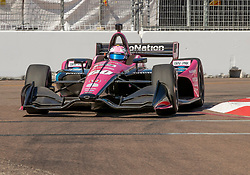 March 9, 2019 - St. Petersburg, FL, U.S. - ST. PETERSBURG, FL - MARCH 09: Meyer Shank Racing with Schmidt Peterson Motorsports driver Jack Harvey (60) of Great Britain during the NTT IndyCar Series - Firestone Grand Prix Qualifying on March 9 in St. Petersburg, FL. (Photo by Andrew Bershaw/Icon Sportswire) (Credit Image: © Andrew Bershaw/Icon SMI via ZUMA Press)