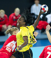 London Handball Cup - Angola vs Austria  -  Isabel Sambovo Fernandes (ANG)