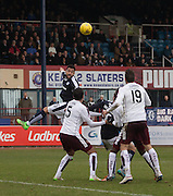 Dundee&rsquo;s Kane Hemmings  - Dundee v Hearts - Ladbrokes Premiership at Dens Park <br />  - &copy; David Young - www.davidyoungphoto.co.uk - email: davidyoungphoto@gmail.com