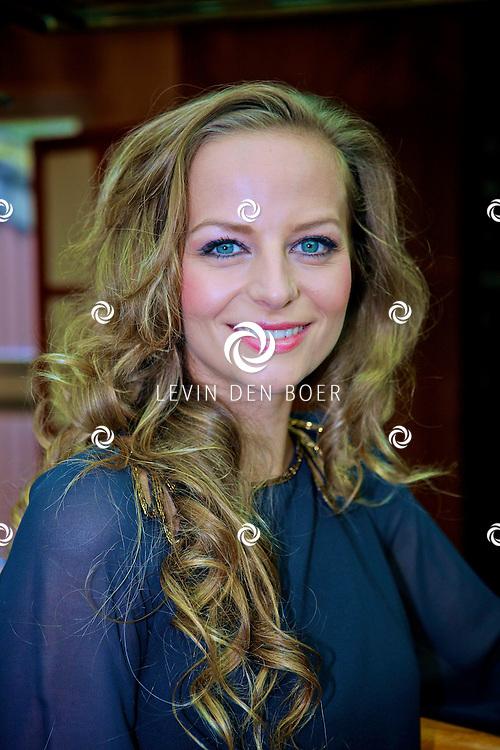 AMSTERDAM - In het Miranda Paviljoen is de perspresenatie gehouden van Ramses.  Met op de foto Cindy Bell die de rol van Liesbeth List gaat spelen. FOTO LEVIN DEN BOER - PERSFOTO.NU