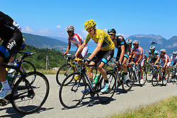 Annecy-Semnoz, France - Tour de France :: Stage 20 - 20-07-2013 - Christopher FROOME (yellow jersey) on Cote du Pugot