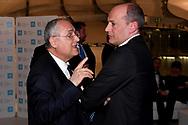 Claudio Lotito, Mauro Baldissoni <br /> Roma 12-4-2019 Nuvola, Roma Convention Center <br /> Cena di Gala Formula E <br /> Photo Andrea Staccioli / Insidefoto