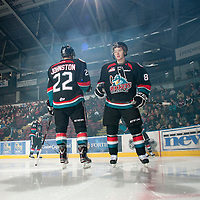 October 18 v Prince George Cougars