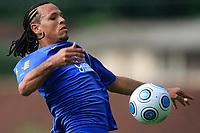 20090325: TERESOPOLIS, BRAZIL – Brazil National Team preparing match against Equador, at Teresopolis training center. In picture: Luis Fabiano. PHOTO: CITYFILES