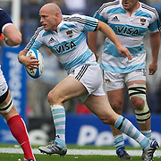 Felipe Contepomi,  Argentina, in action during the Argentina V France test match at Estadio Jose Amalfitani, Buenos Aires,  Argentina. 26th June 2010. Photo Tim Clayton....