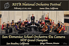 2010 ASTA Conference and National Orchestra Festival. Santa Clara, CA