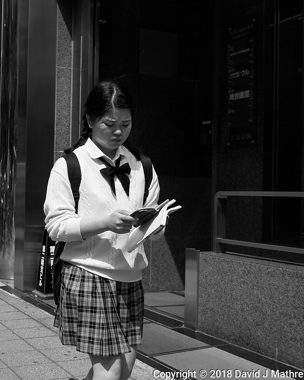 Morning walkabout in and around the Shinjuku Train & Subway Station. Image taken with a Leica CL camera and 23 mm f/2 lens