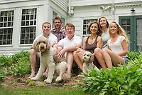 Kelly Family portraits.  ©2016 Karen Bobotas / for St Paul's School