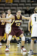 25 JANUARY 2007: Minnesota guard Brittany McCoy (12) in Iowa's 80-78 overtime loss to Minnesota at Carver-Hawkeye Arena in Iowa City, Iowa on January 25, 2007.