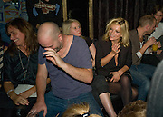 JAKE CHAPMAN; KATE MOSS, The Premiere of DD perfume by Agent Provocateur with a DD Fashion Show. Dolce. Air St. London. 25 September 2008 *** Local Caption *** -DO NOT ARCHIVE-© Copyright Photograph by Dafydd Jones. 248 Clapham Rd. London SW9 0PZ. Tel 0207 820 0771. www.dafjones.com.