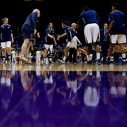 Mar 26, 2013; Baton Rouge, LA, USA; A general view during introductions before a game between the LSU Tigers and the Penn State Lady Lions in the second round of the 2013 NCAA womens basketball tournament at Pete Maravich Assembly Center. Mandatory Credit: Derick E. Hingle-USA TODAY Sports