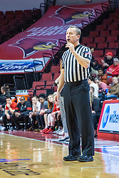 NORMAL, IL - February 27: Mark Berger during a college women's basketball game between the ISU Redbirds and the Bears of Missouri State February 27 2020 at Redbird Arena in Normal, IL. (Photo by Alan Look)