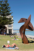 Johannes Pannekoek - Divergent - Sculpture By The Sea, Cottesloe 2018 Photograph by David Dare Parker