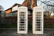 25 January 2017: KCOM cream telephone boxes that are unique to Hull, East Yorkshire. Seven of them have listed status including this one in Anlaby Road near the KCOM Stadium.<br /> Picture: Sean Spencer/Hull News & Pictures Ltd<br /> 01482 210267/07976 433960<br /> www.hullnews.co.uk         sean@hullnews.co.uk