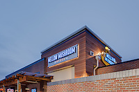 Architectural Image of Mellow Mushroom Restaurant in Newport News VA by Jeffrey Sauers of Commercial Photographics, Architectural Photo Artistry in Washington DC, Virginia to Florida and PA to New England