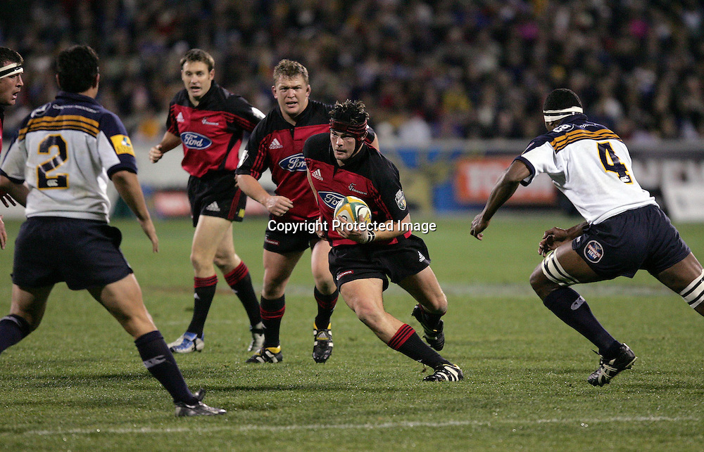 22 May, 2004. Super 12 Final, Canberra Stadium, Canberra ACT, Australia.<br /> Ritchie McCaw.<br /> The Brumbies defeated the Crusaders  48-37<br /> Please credit: Andrew Cornaga/Photosport