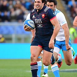 Remi Lamerat of France makes a break during the RBS Six Nations match between Italy and France at Olimpico Stadium on March 11, 2017 in Rome, Italy. (Photo by Dave Winter/Icon Sport)