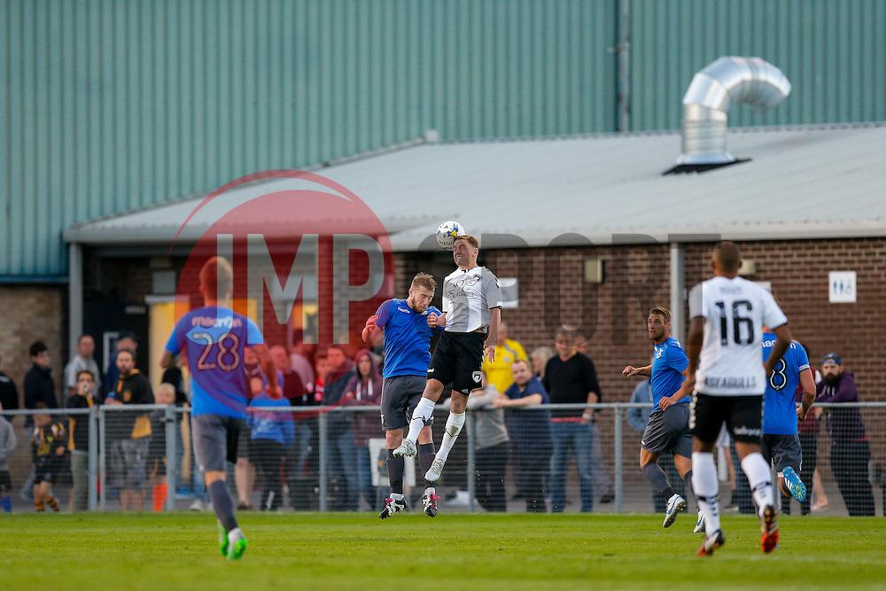 General View as Danny Greenslade of Bristol Rovers competes - Mandatory by-line: Rogan Thomson/JMP - 13/07/2016 - SPORT - Football - Woodspring Stadium - Weston-super-Mare, England - Weston-super-Mare AFC v Bristol Rovers - Pre Season Friendly.
