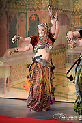 A dance performance at Tribal Fest 2015  in Sebastopol California