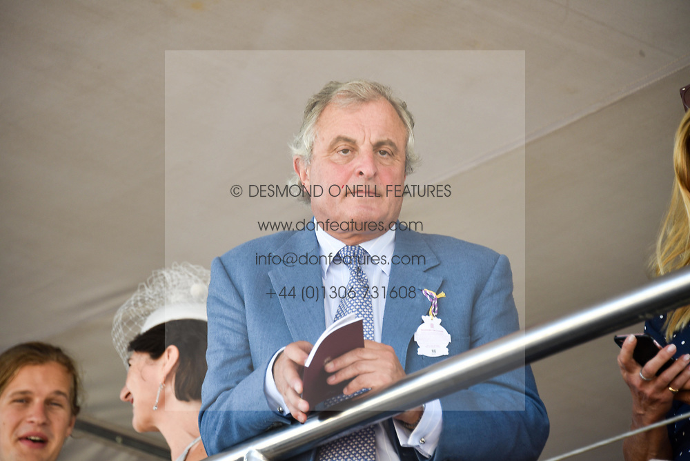 Viscount Astor at the Qatar Goodwood Festival - Glorious Goodwood, Goodwood Racecourse, West Sussex 02 August 2018.