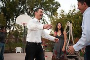 Henry & Michelle's South Valley bosque wedding at Hubble House in Albuquerque New Mexico.