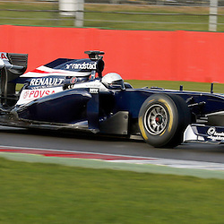 Susie Wolff test driving the Williams F1 race car at Silverstone....(c) STEPHEN LAWSON | StockPix.eu