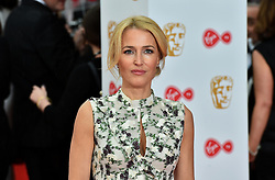 Gillian Anderson arriving for the Virgin TV British Academy Television Awards 2017 held at Festival Hall at Southbank Centre, London.