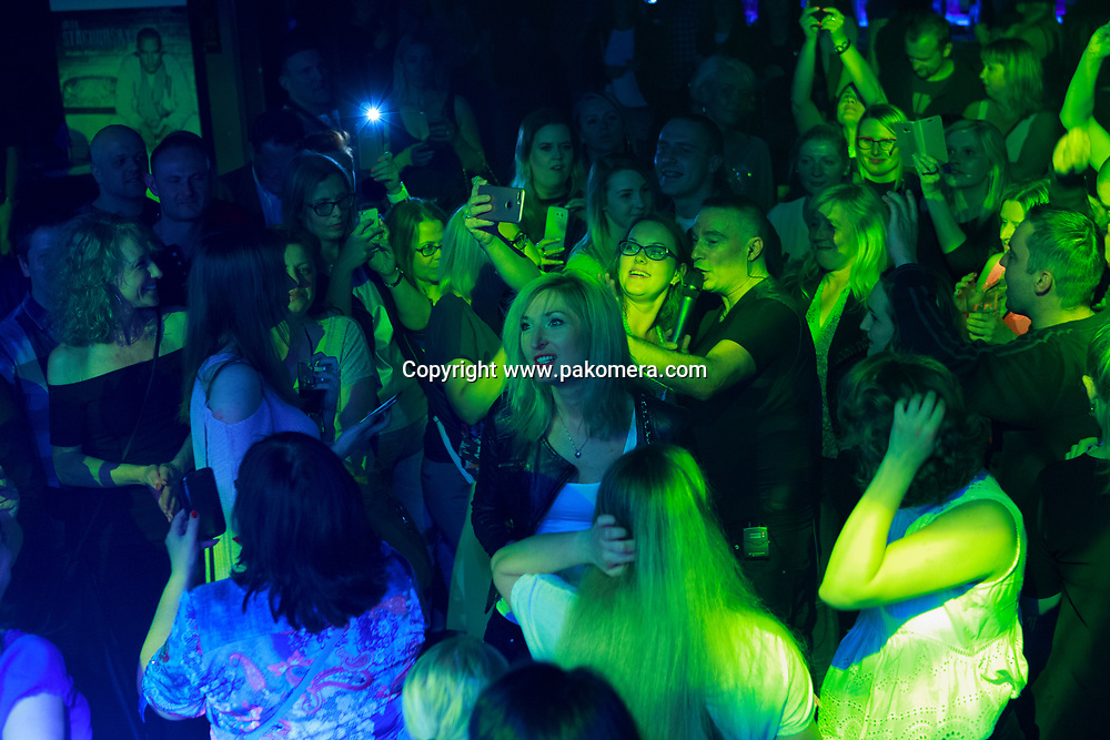 Edinburgh, Scotland 7th July. Jacek Stachursky performs on stage in The Liquid Rooms on 7th July 2017.  Edinburgh. Pako Mera