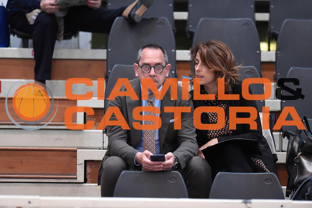 Egidio Bianchi<br /> Quarti diFinale Gara 2<br /> Legabasket A 2016,2017<br /> Trento 14,05,2017<br /> Foto Ciamillo-Castoria,GiulioCiamillo