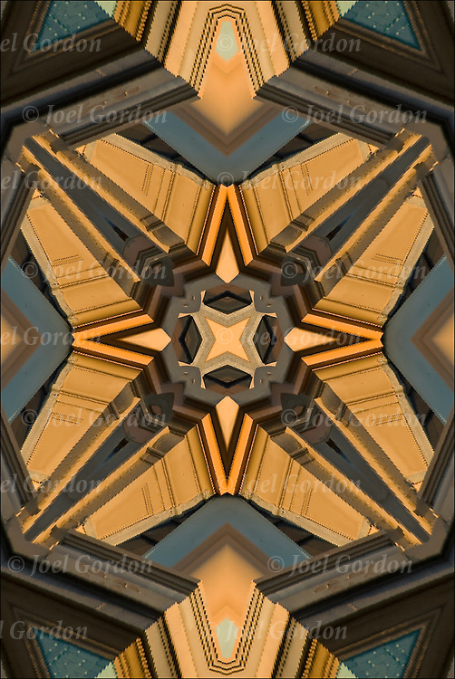 Abstract design of patterns, forms, texture and design.