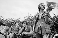 1972, Miami, Florida, USA --- Vietnam War veterans protest against the War at the 1972 Republican National Convention. --- Image by © Owen Franken/CORBIS
