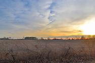 Ohio Winter Sunset