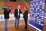 Andrea Capobianco, Geri De Rosa<br /> EuroBasket Women 2017 Qualifying Round<br /> Italia - Gran Bretagna<br /> Lucca, 19/11/2016<br /> Foto Ciamillo - Castoria