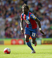 Crystal Palace's Pape Souare during the Barclays Premier League match at Selhurst Park, London.