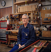 Steve Carver, chief piano technician at Juilliard and Tanglewood