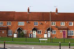 New housing development, Hamilton, Leicester, England, UK.