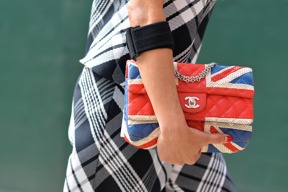 Chanel Union Jack Bag, Outside Peter Som SS2015
