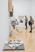 Night-bloomining generation by Helen Martin - Turner Prize exhibition, Tate Britain - the four shortlisted artists in 2016 are: Michael Dean, Anthea Hamilton, Helen Marten and Josephine Pryde. It is at Tate Britain from 27 September 2016 to 2 January 2017.