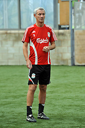 LIVERPOOL, ENGLAND - Tuesday, May 12, 2009: Ex-Liverpool player Ian Rush during a training session at Melwood as the players prepare for the Hillsborough Memorial Game in aid of the Marina Dalglish Appeal which will be staged at Anfield on May 14. (Photo by Dave Kendall/Propaganda)