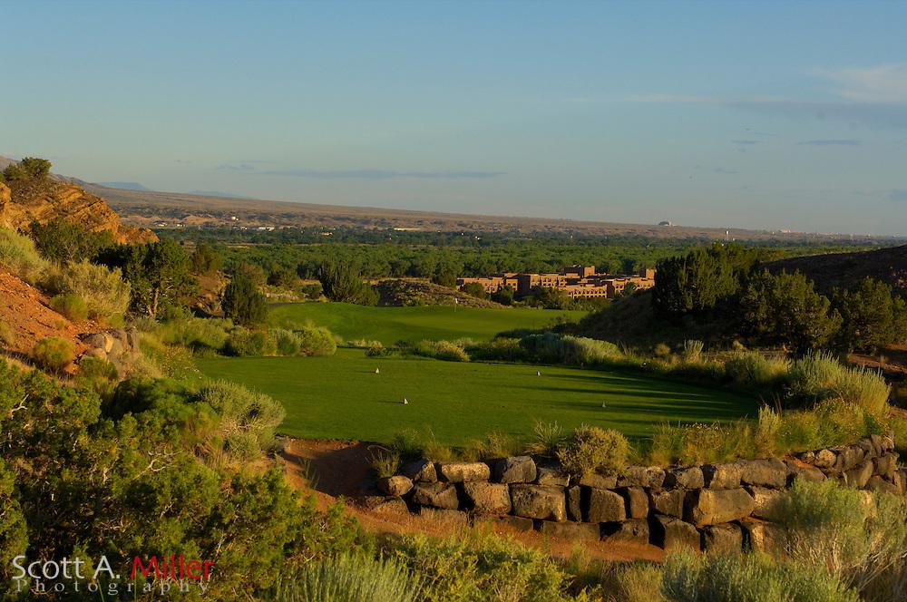 Albuquerque, N.M.:  July 9, 2006 -  No. 15 on the Twin Warriors Golf Club in Santa Ana Pueblo, N.M...                ©2006 Scott A. Miller