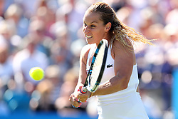 Slovakia's Dominika Cibulkova in action during her match against Great Britain's Heather Watson during day four of the AEGON International at Devonshire Park, Eastbourne.