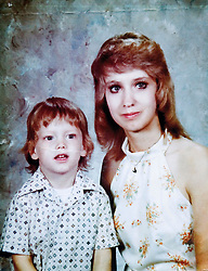 19 Jan,2006. Collect photograph. Marshall Bruce Mathers III, aka Eminem as a young boy with his mother Debbie Nelson in a 1970's photograph. Debbie Nelson, Eminem's mother is now (2006) extremely sick with cancer.  Friends and relatives are concerned for her ailing health and her fractured relationship with her famous son.<br /> Photo Credit: Kresin via  www.varleypix.com