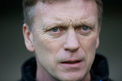 NEWCASTLE, ENGLAND - Saturday, March 5, 2011: Everton's manager David Moyes before the Premiership match against Newcastle United at St. James' Park. (Photo by David Rawcliffe/Propaganda)