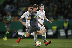 December 13, 2018 - Lisbon, Portugal - Miguel Luis of Sporting  in action  during UEFA Europa League football match between Sporting CP vs Vorskla, in Lisbon, on December 13, 2018. (Credit Image: © Carlos Palma/NurPhoto via ZUMA Press)