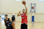 DESCRIZIONE : Roma Centro Sportivo Coni Acqua Acetosa Raduno Collegiale Nazionale Italiana Maschile Allenamento<br /> GIOCATORE : Stefano Mancinelli<br /> SQUADRA : Nazionale Italia Uomini <br /> EVENTO : Raduno Collegiale Nazionale Italiana Maschile <br /> GARA : Allenamento<br /> DATA : 29/07/2010 <br /> CATEGORIA : ritratto<br /> SPORT : Pallacanestro <br /> AUTORE : Agenzia Ciamillo-Castoria/GiulioCiamillo<br /> Galleria : Fip Nazionali 2010 <br /> Fotonotizia : Roma Centro Sportivo Coni Acqua Acetosa Raduno Collegiale Nazionale Italiana Maschile Allenamento<br /> Predefinita :