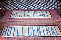 Maroc, Casablanca, ancienne Medina, Hotel Central // Morocco, Casablanca, old medina, Central Hotel