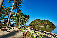 marimegmeg beach El Nido in Palawan Philippines