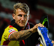 Tom Flanagan of Milton Keynes Dons after the Pre Season Friendly match at the London Borough of Barking and Dagenham Stadium, London<br /> Picture by David Horn/Focus Images Ltd +44 7545 970036<br /> 22/07/2014