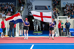 England v The Netherlands, Lee Valley Hockey and Tennis Centre, London, England on 11 June 2017. Photo: Simon Parker